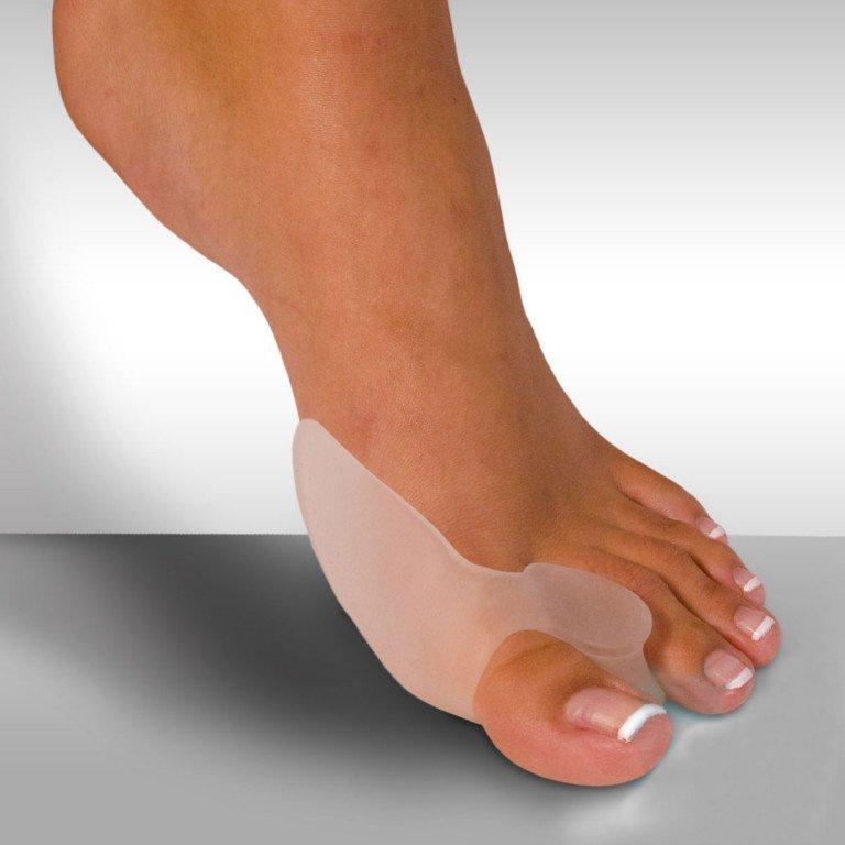 Вальгус или сепараторы пальцев: польза для ног при ношении.