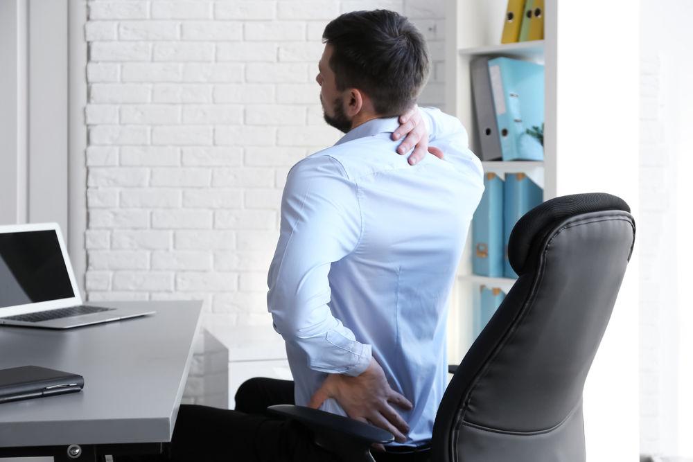 Болит спина за компьютером: причины и домашние средства лечения.